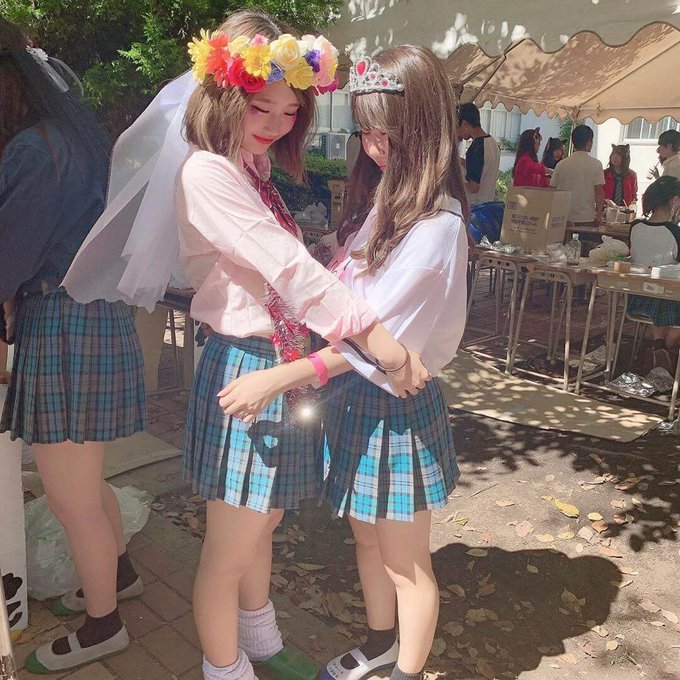 あの学校で文化祭が開催されたんだね、TLが花盛り! #新栄 #翌檜祭